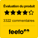 Feefo - Evaluation du produit