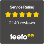 feefo feedback rating